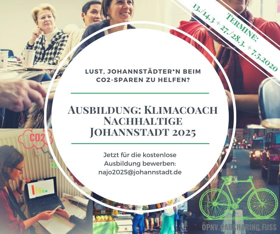 Klimacoach für die Johannstadt werden
