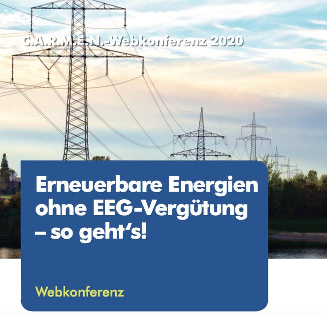 Erneuerbare Energien ohne EEG-Vergütung – so geht's!