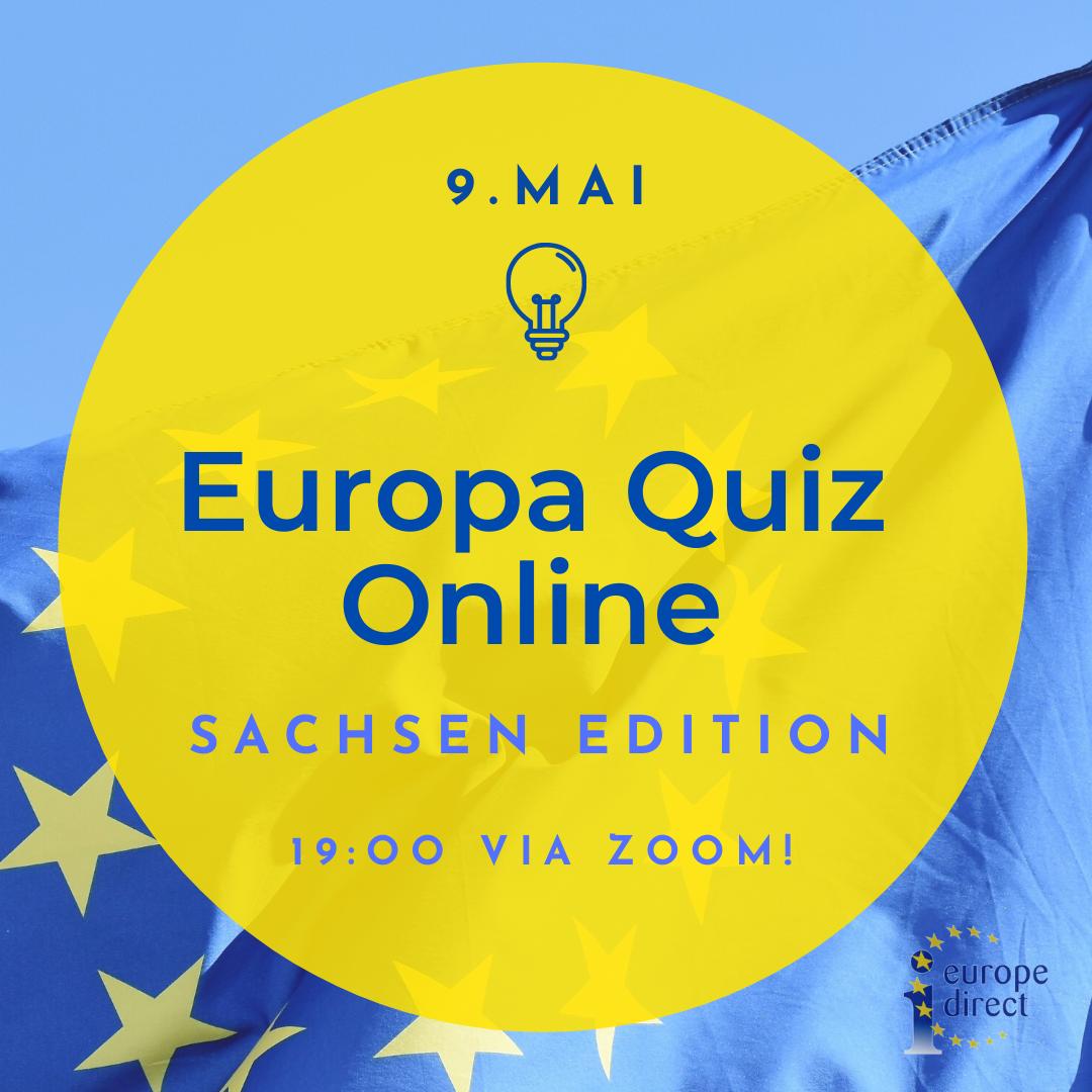 Europa-Quiz Online! Sachsen-Edition