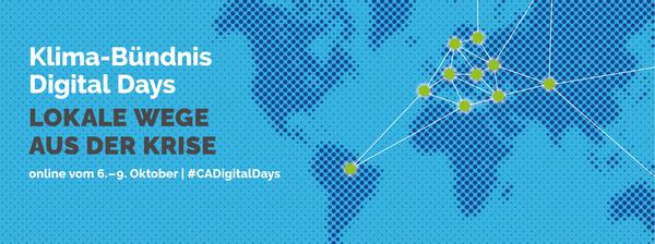 Klima-Bündnis Digital Days - Lokale Wege aus der Krise
