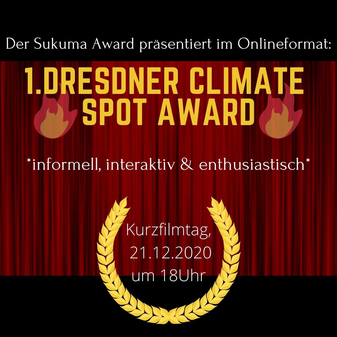 1. Dresdner Climate Spot Award