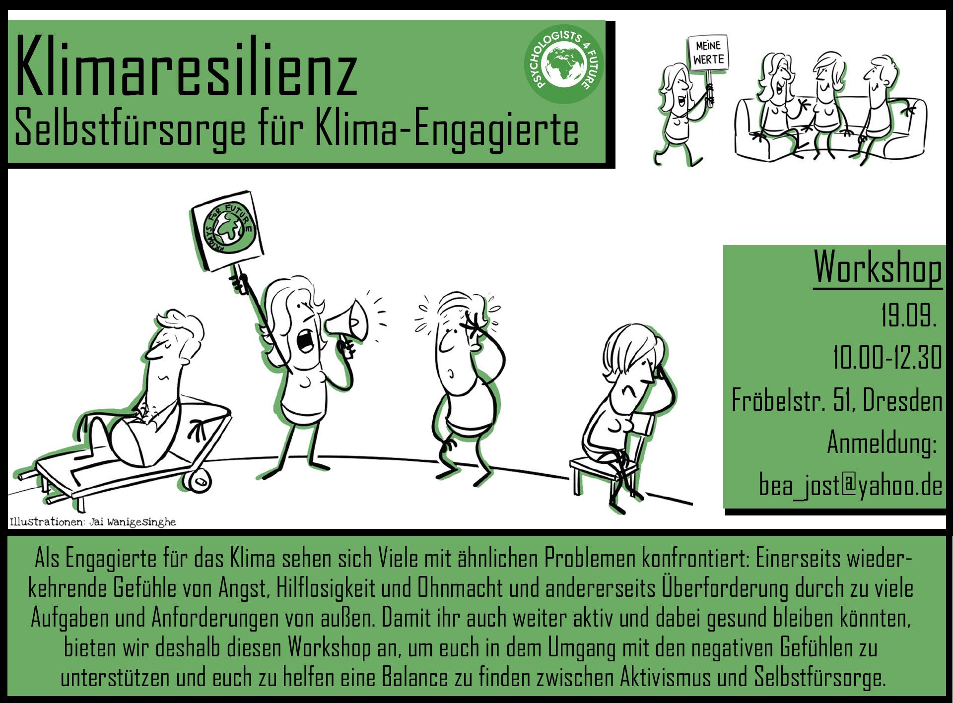 Klimaresilienz: Selbstfürsorge für Klima-Engagierte