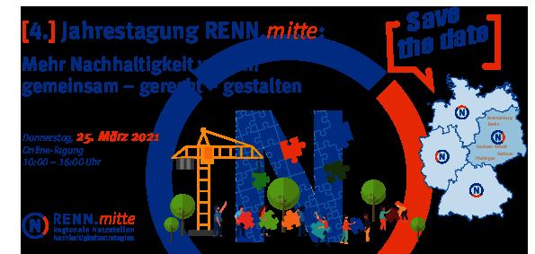 Jahrestagung RENN.mitte: Mehr Nachhaltigkeit wagen! gemeinsam - gerecht - gestalten