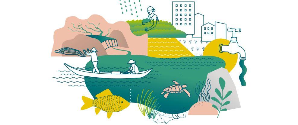 Stadt–Land–Gewässer: Wasser für Alle?! Online-Seminarreihe