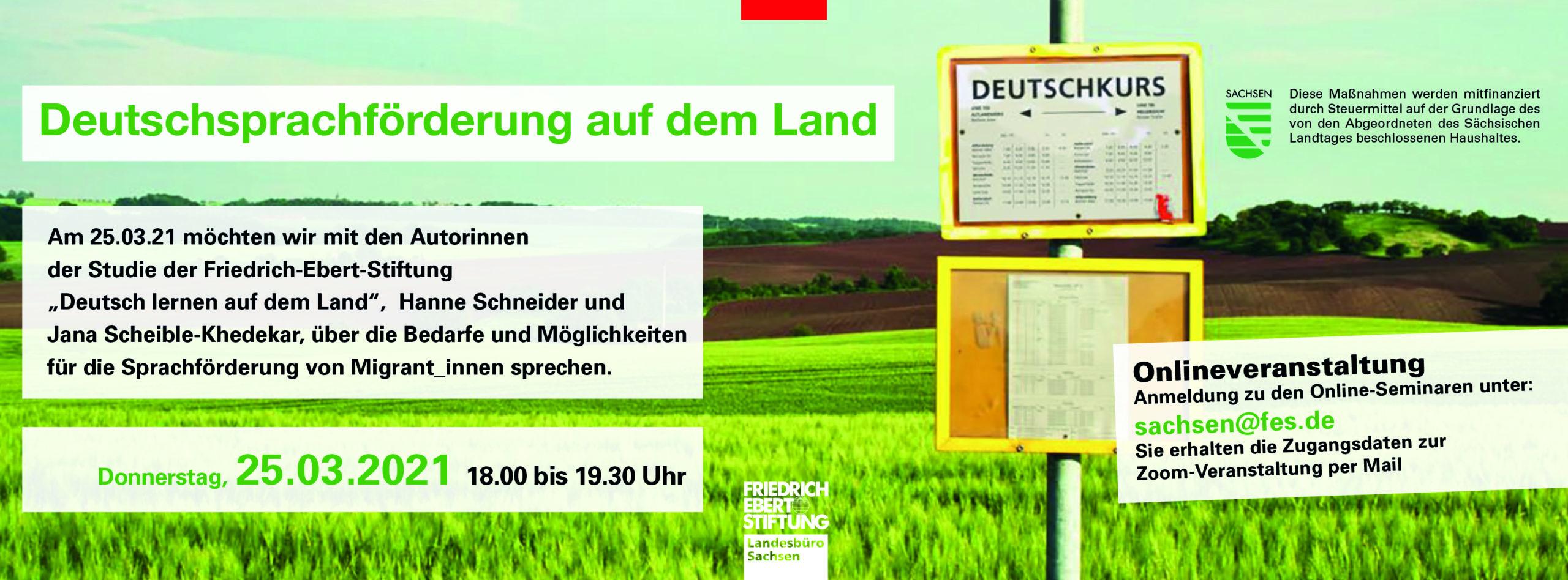 Deutschsprachförderung auf dem Land