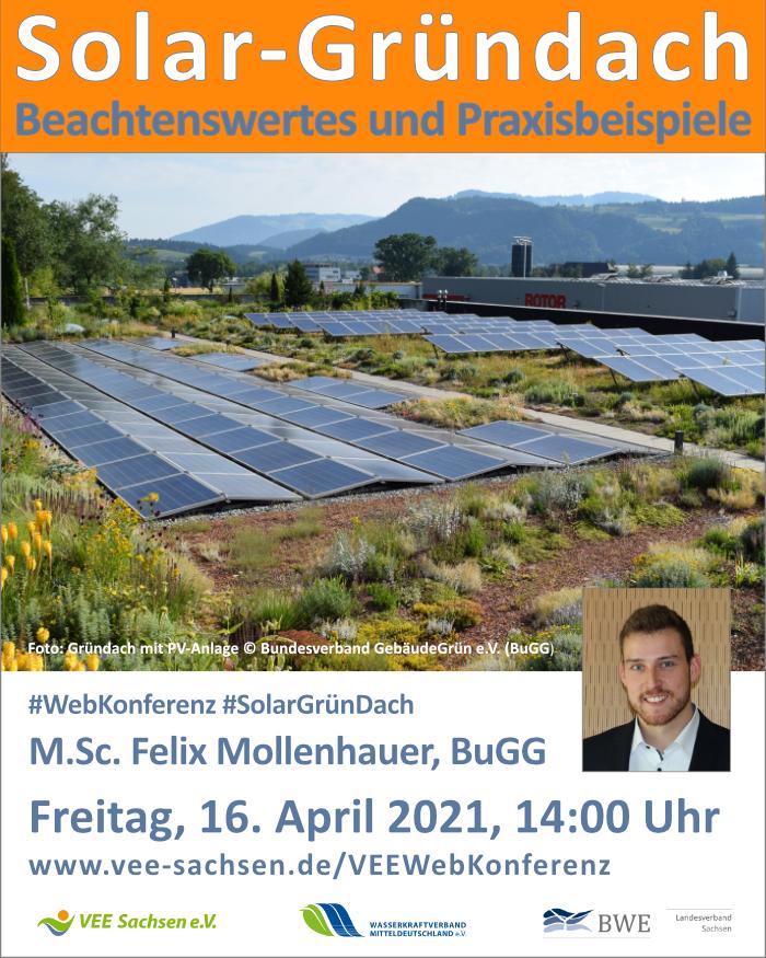 Solar-Gründach - Beachtenswertes und Praxisbeispiele