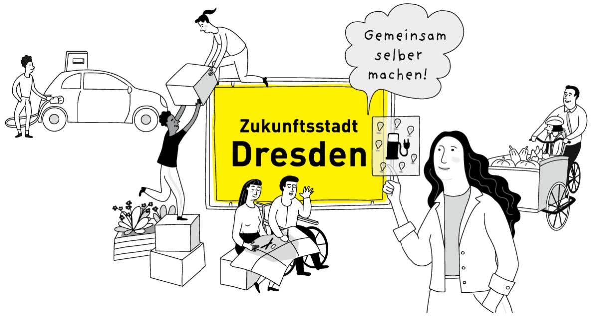 Projekt- und Ideenwerkstatt mit dem Stadtteilverein Johannstadt