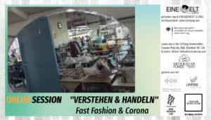 Verstehen und handeln – Panelrunde zu Fast Fashion und Corona
