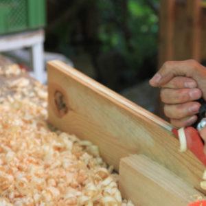 Kein Brett vorm Kopf - Gartenmöbel aus Altholz bauen