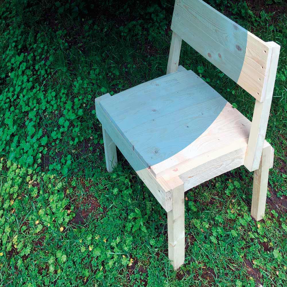 Wie baut man einen Stuhl - Holzbauworkshop
