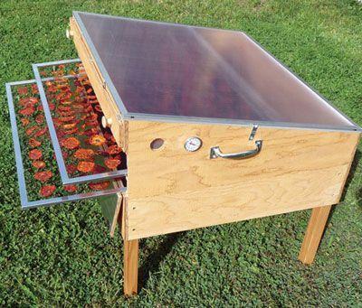 Mehr, als heiße Luft - Solartrockenschrank aufbauen
