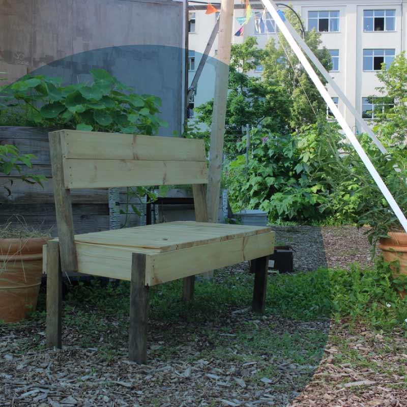 Sitzmöbel für den Garten bauen - Grundlagen im Tischlern