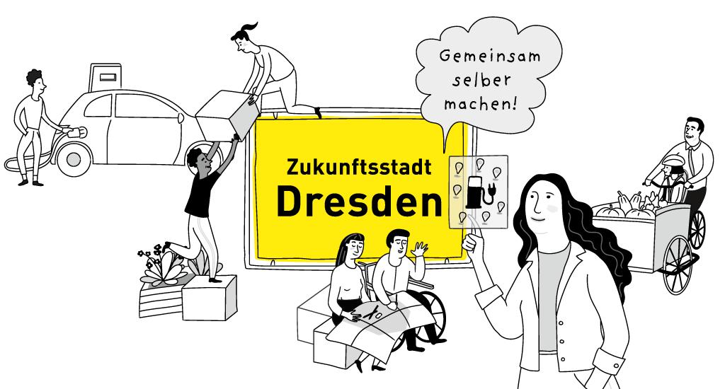Projektwerkstadt Zukunftsstadt Dresden in Pieschen